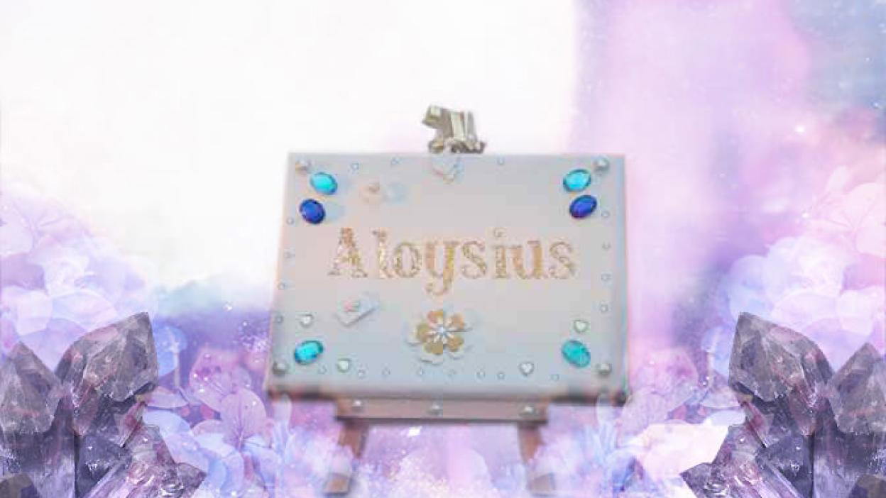 Aloysius name meaning dictionary of boys names