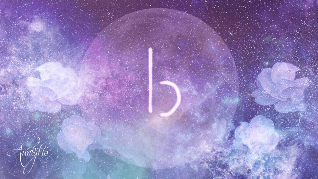 Looped Letter B