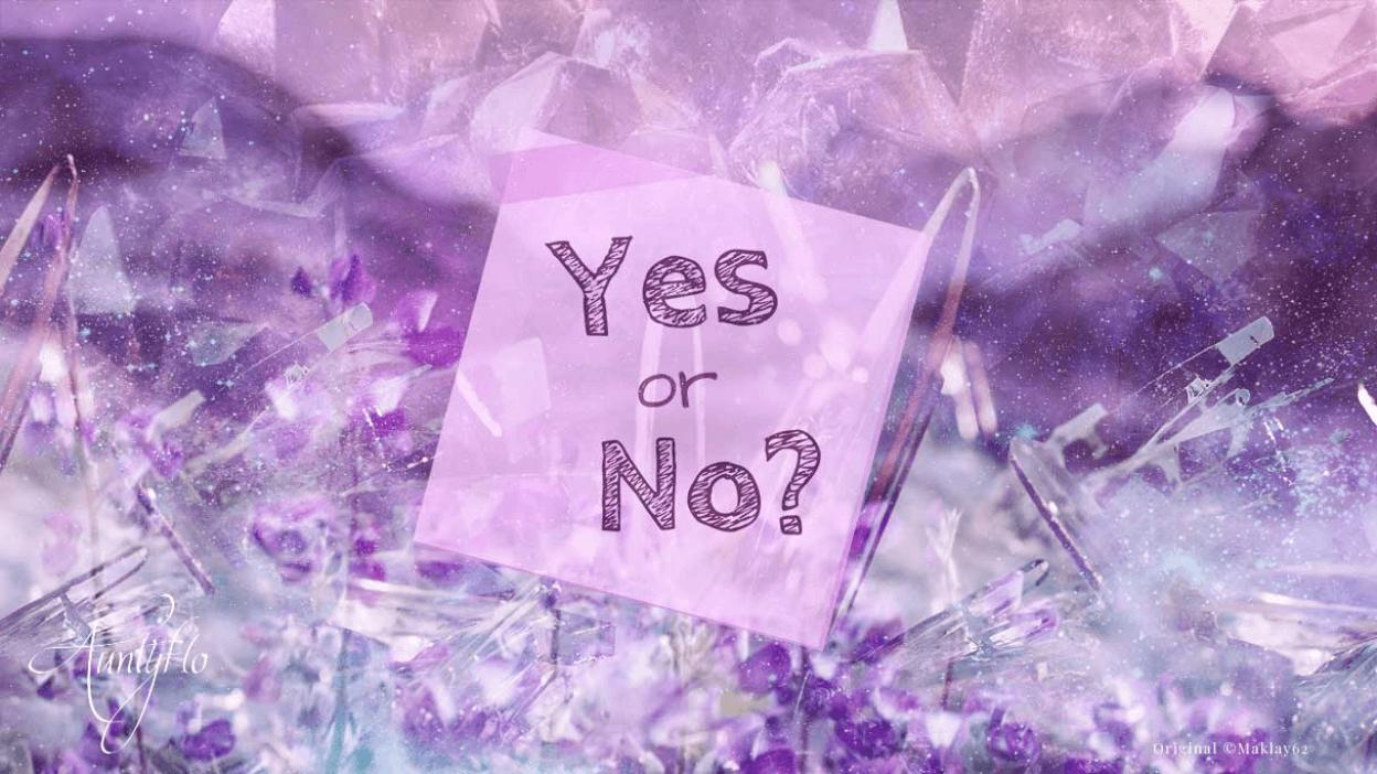 Yes or no love spell