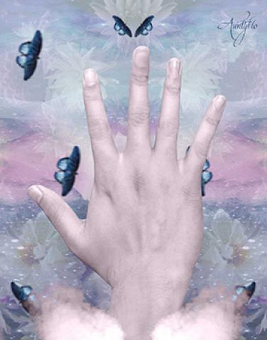 psychic or idealistic hand palmistry