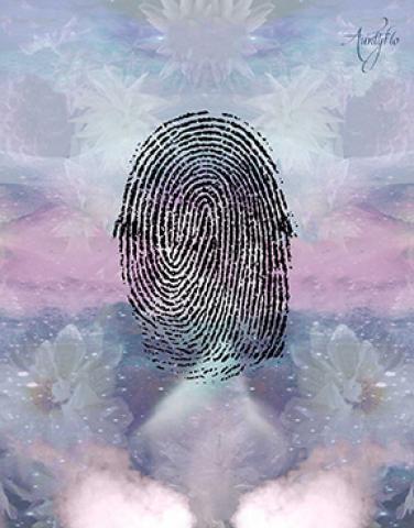 Loop on finger prints palmistry