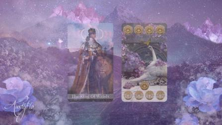 King of Pentacles and Nine of Wands Combination Meanings