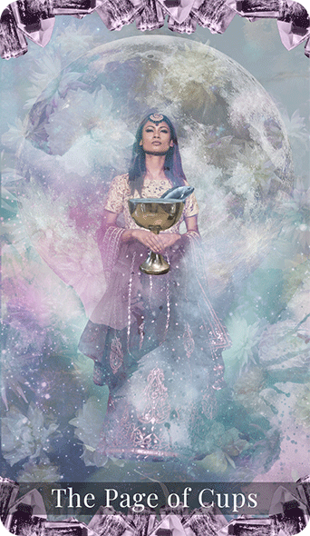 The Page Of Cups Tarot Cards Auntyflo Com