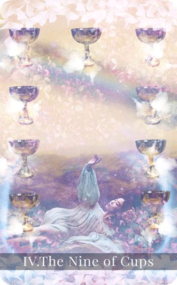 The Nine of Cups tarot card