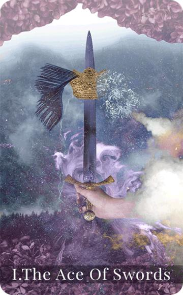 The Ace of Swords tarot card