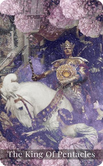 The King of Pentacles tarot card