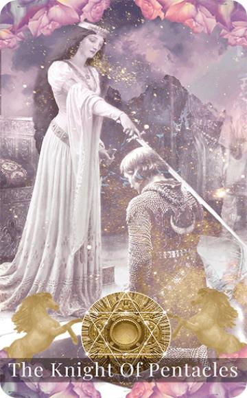 Knight of pentacles banner image